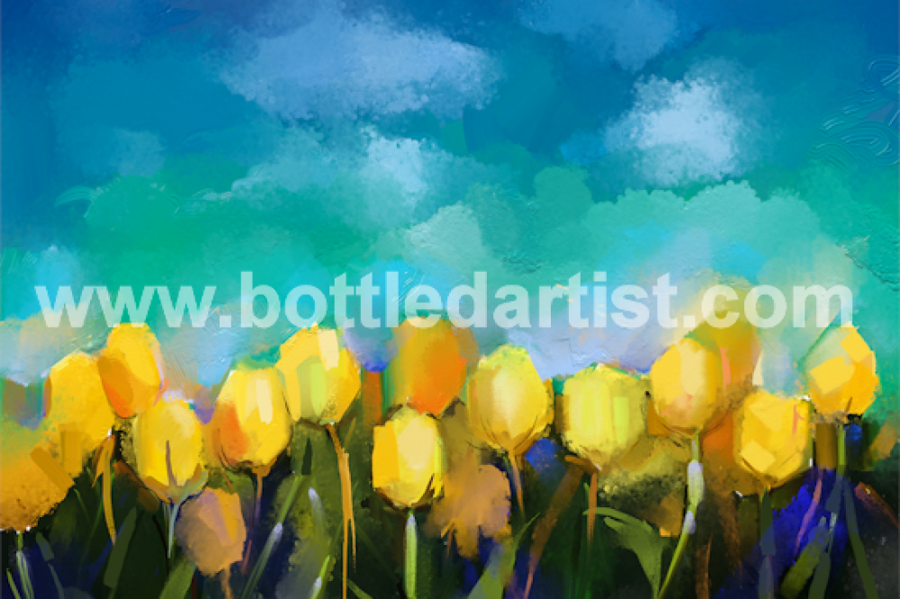 March of the Yellow Tulips